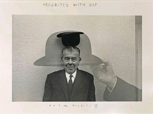 photo de Margritte par Duane Michals