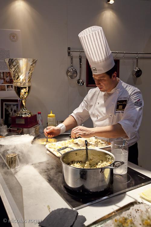 Chef cuisiner Frédéric Coiffé