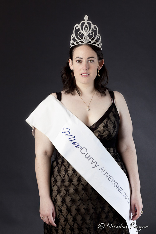 photographie de Miss Curvy 2012