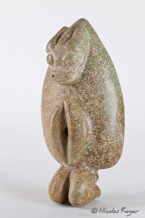 Une sculpture assez suggestive