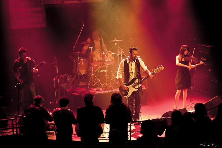 Cidjy en en concert