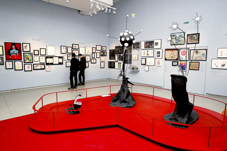 Exposition de Tim Burton à Paris