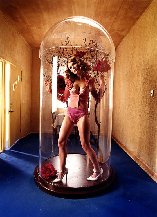 Photographie de Kirsten Dunst par David Lachapelle