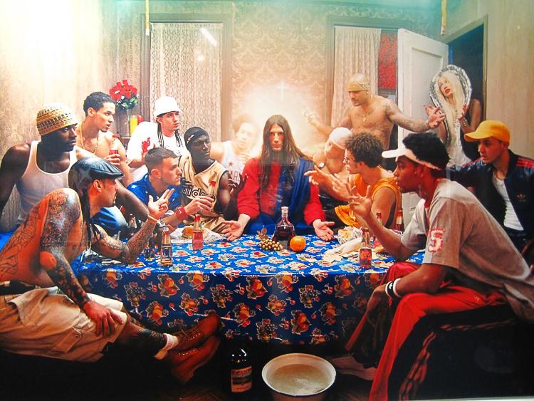 La Cène représentée par David Lachapelle