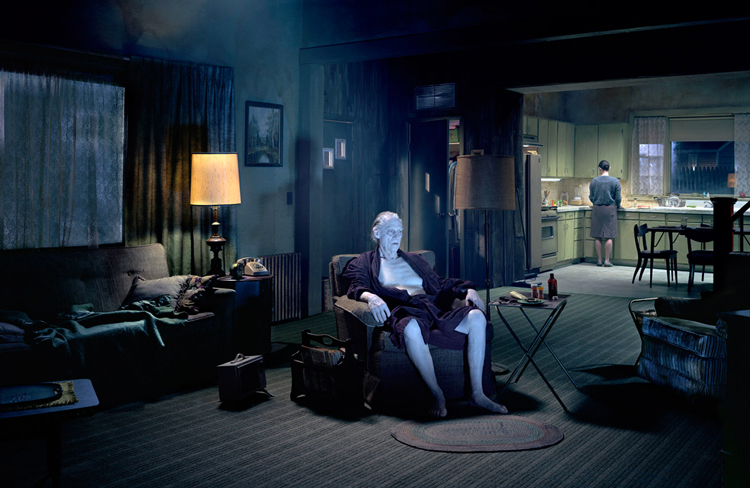 Thotographie de l'artiste photographe Gregory Crewdson