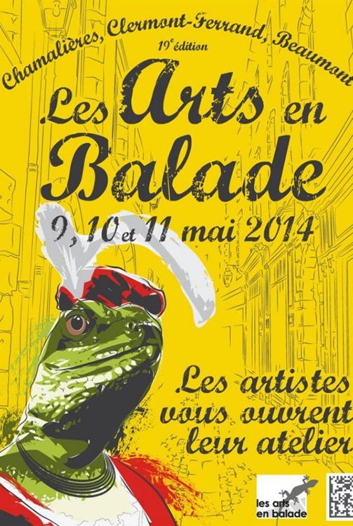 Affiche arts en balade 2014