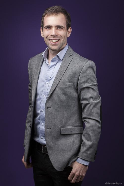 Portrait d'un entrepreneur en Auvergne
