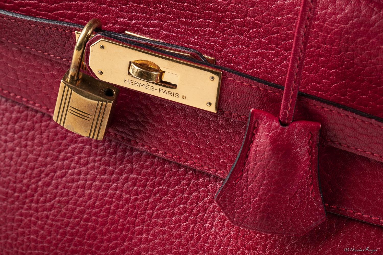 Détail de sac Hermès