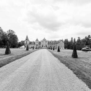 Château où se déroule à réception de mariage