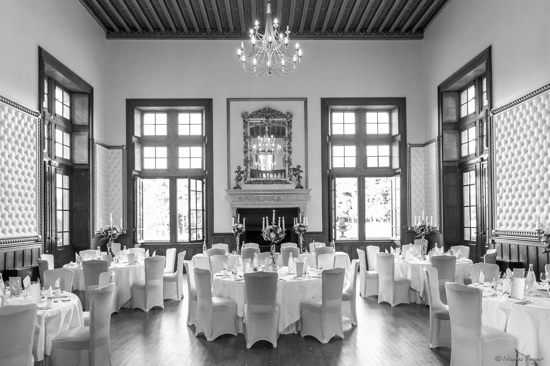 Salle de réception du mariage