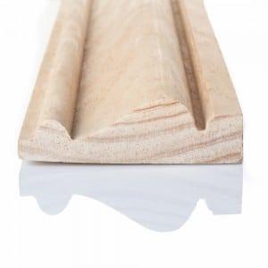 Photographie de moulure bois en packshot
