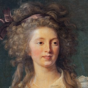 Reproduction d'un tableau de Vigée Lebrun