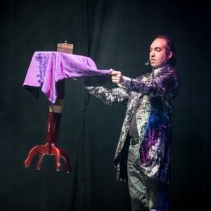 Photographie d'un spectacle de magie