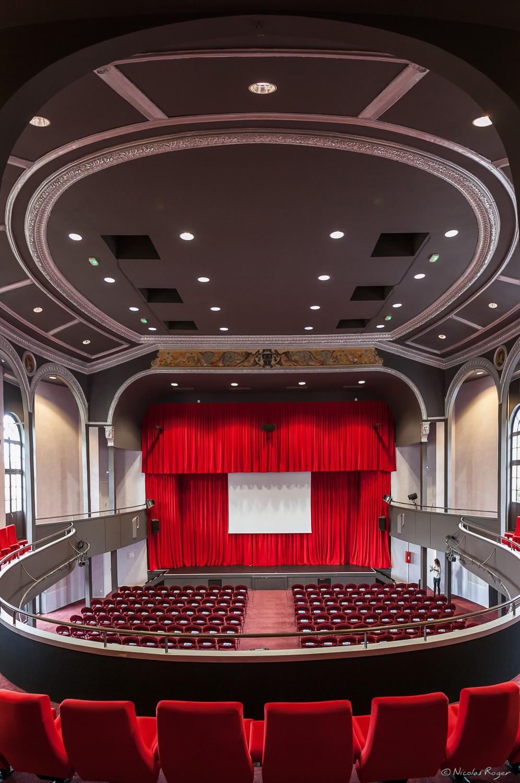 Photographie d'architecture pour une salle de spectacle