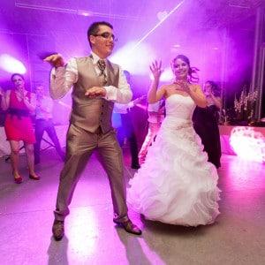 Photographie de la danse des mariés