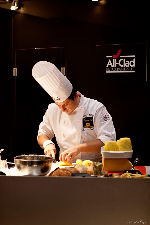 Portrait de cuisinier en Auvergne