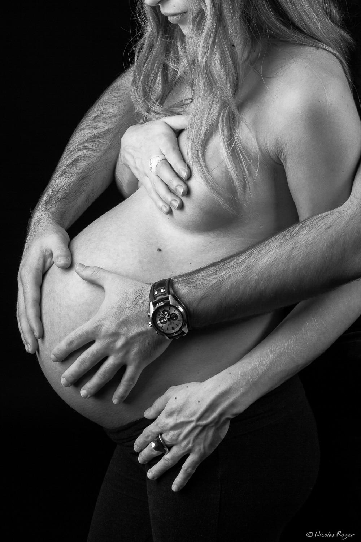 Photographie de couple durant la grossesse