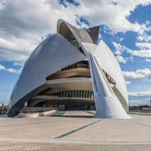 Architecture : Palais des arts de Valencia