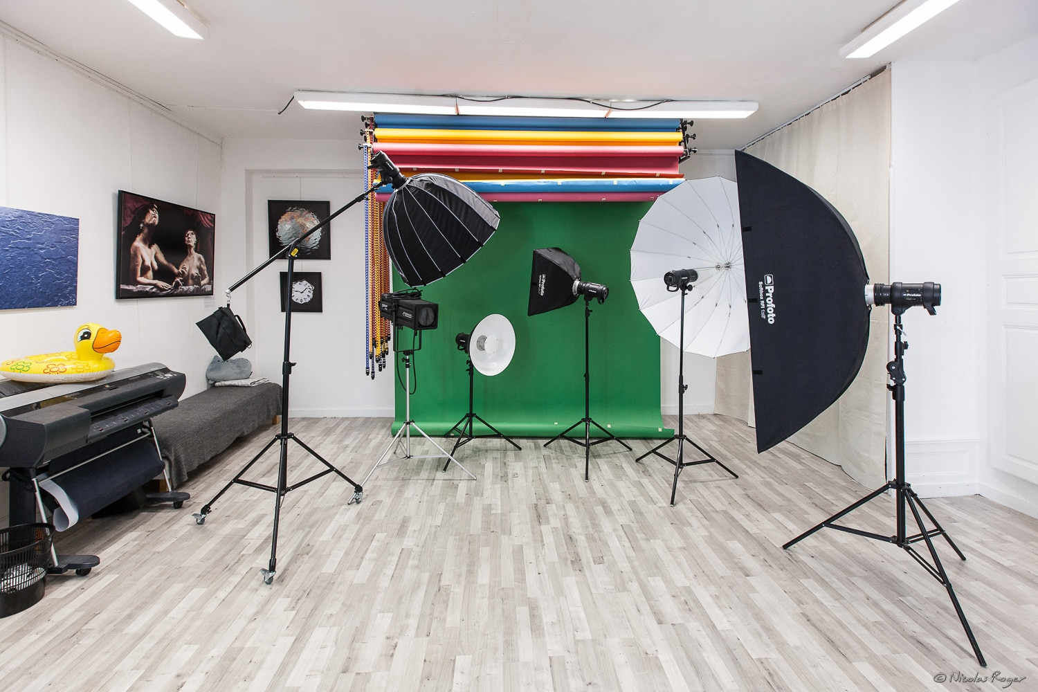 Photographie d'un studio photo à Clermont-Ferrand