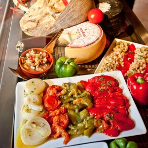 Photographie culinaire de tapas