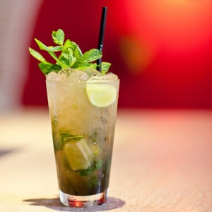 Photographie de cocktail : le Mojito