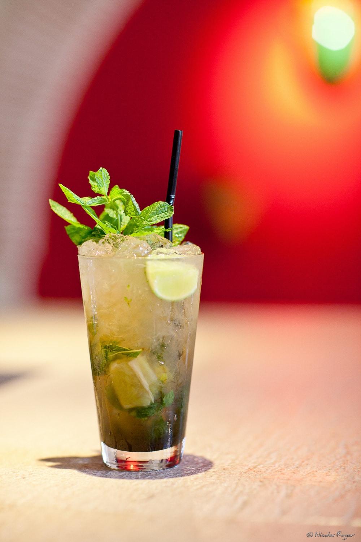 Photographie de cocktail : le Mojito