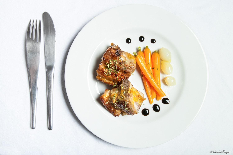 Photographie d'un plat de veau