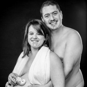 Photographie du couple pendant la grossesse