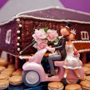Photographie du sujet des mariés