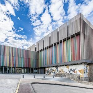 Photographie de la Cité internationale de la tapisserie d'Aubusson