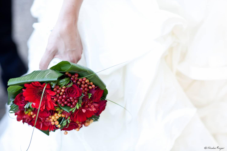 Bouquet de mariage en Auvergne