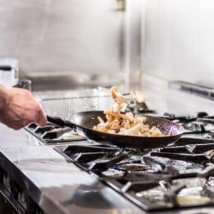 Reportage dans la cuisine du Vésuve