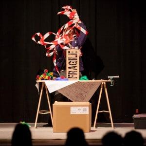 Photographie de spectacle de magie en Auvergne