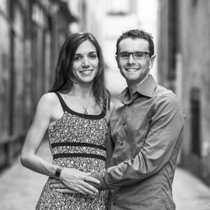 Photographie de couple dans le Puy de Dôme