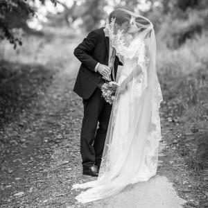Photographie de mariage romantique