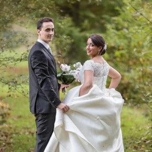 Photographie de mariage au château de Miremont