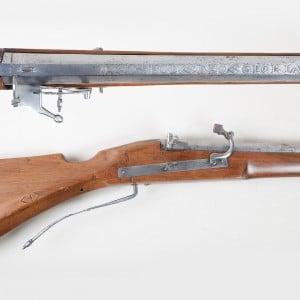 Photographie d'armes anciennes