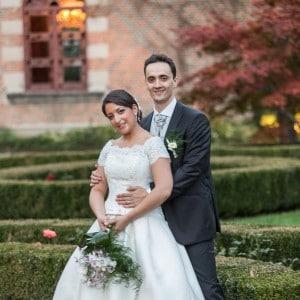 Photographie de mariage au château de Maulmont