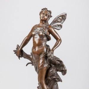 Photographie de bronze Art Nouveau