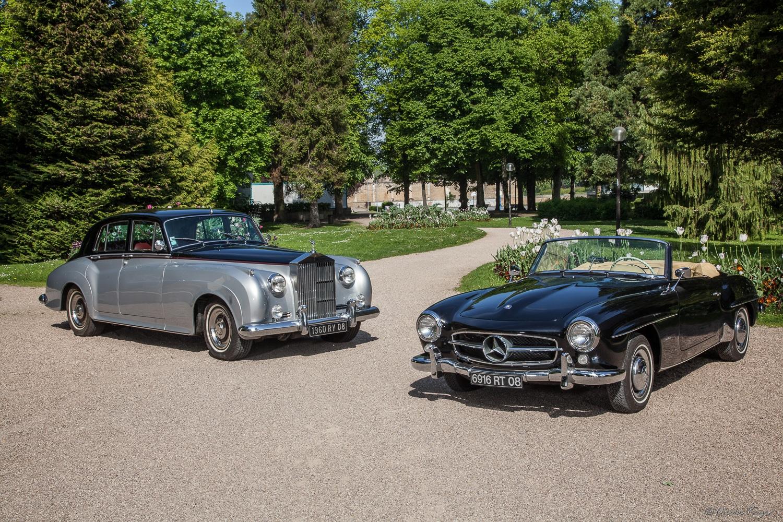 Photographie de voitures anciennes