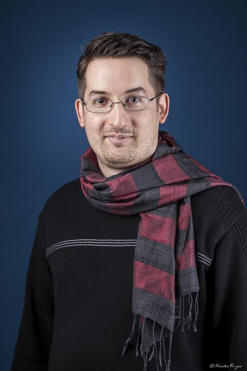 Portrait d'un entrepreneur de startup