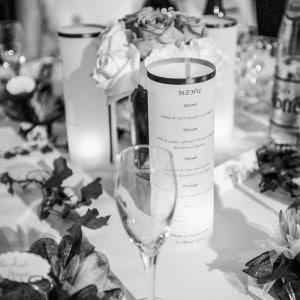 Table de soirée - Menu