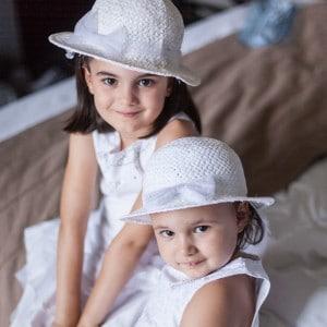 Portraits d'enfants au mariage