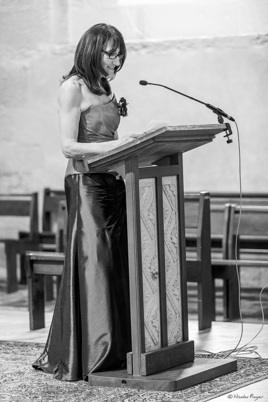 Cérémonie à l'église – Lecture