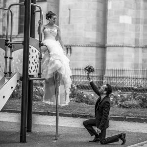 Une demande romantique