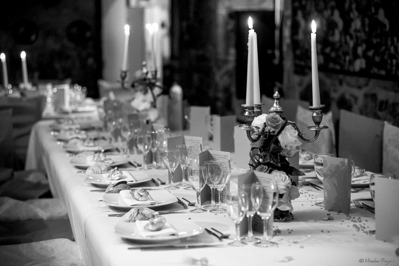 Une table romantique