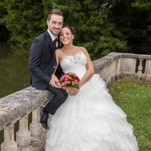 Heureux couple de mariés