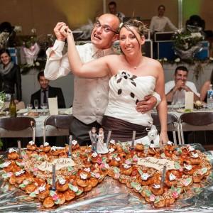 Des mariés tueurs de gâteaux !