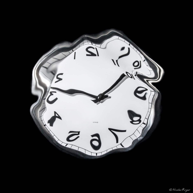 «Cabinet des réflexions» Horloge