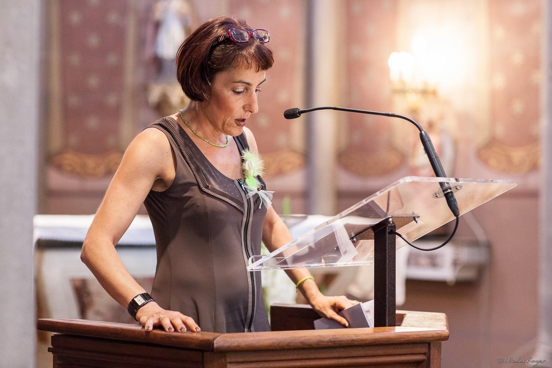 Lecture à l'église